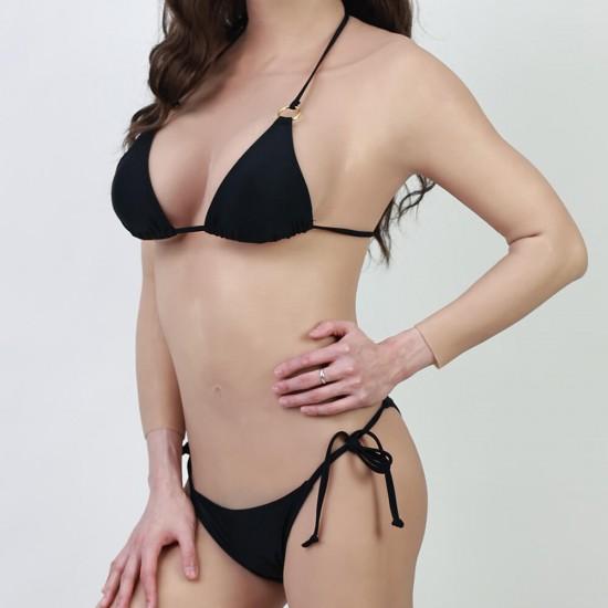 High elastic Bikini - black