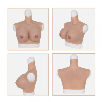 Silicone breast G cup - Medium size