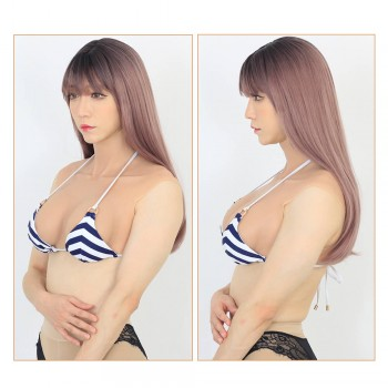 Upgrade B Cup Breast Shorter Version Realistic Breast Forms