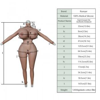 Stronger S-curve Female Bodysuit