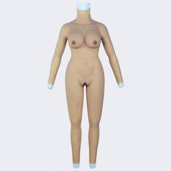 body suit with arms-D cup