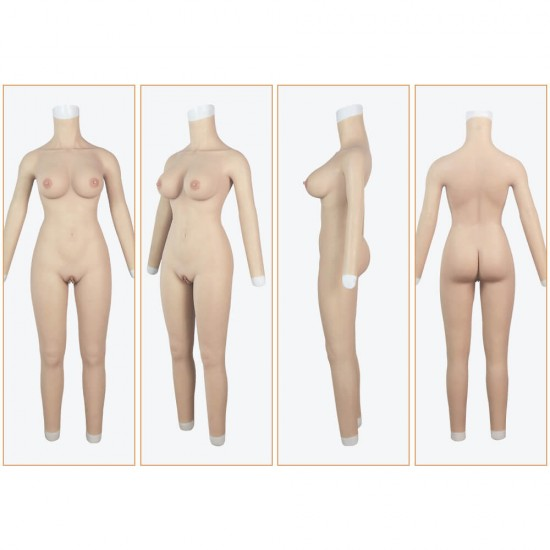 body suit with arms-E cup