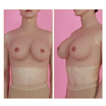 silicone breast D cup