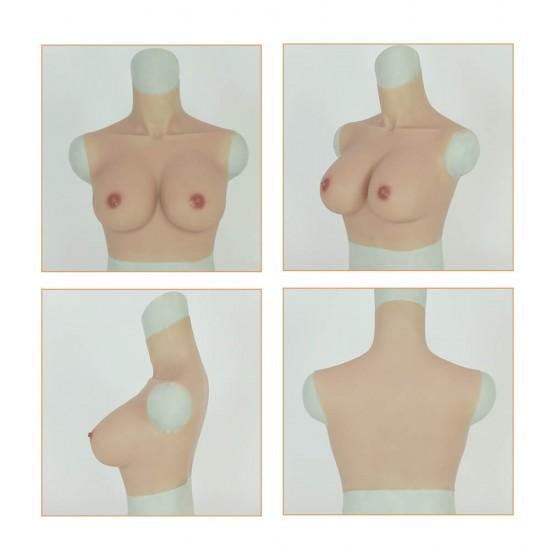 silicone breast E cup