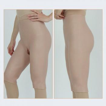 Crossdresser girdle-middle length pant