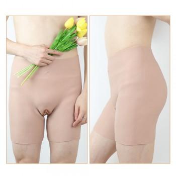 silicone penetrable fake vagina pant