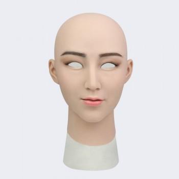 Female Silicone Crossdresser mask-Laurel