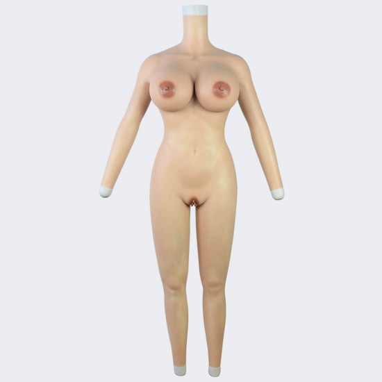 body suit with arms-H cup