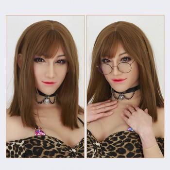 female silicone crossdresser mask-Ria mask