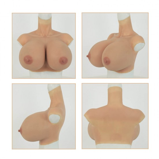 silicone breast S cup