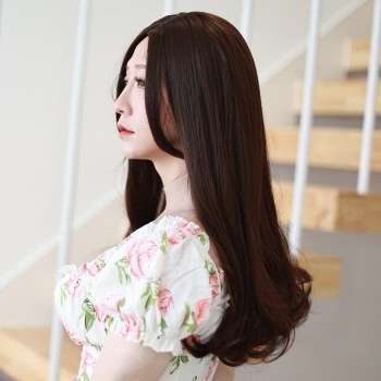 Curly long wig- JF004