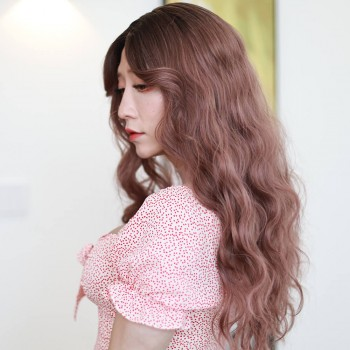Curly long wig-JF005